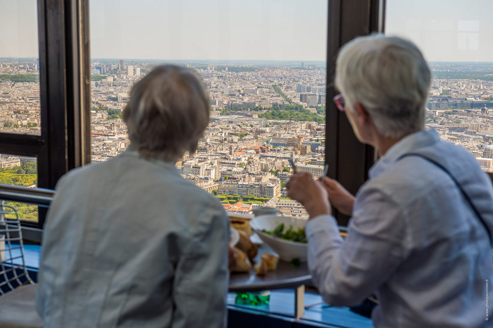 restaurant mit blick über paris im tour montparnasse - Ciel De Paris Franzosische Restaurant